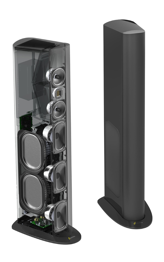 goldenear triton oner tower speakers fig1