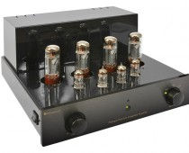 gal2 ProLogue Premium Integrated Amplifier black front side with no cover LR JPG