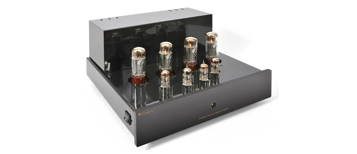 gal2 ProLogue Premium Mono Amplifier black front side with no cover LR JPG